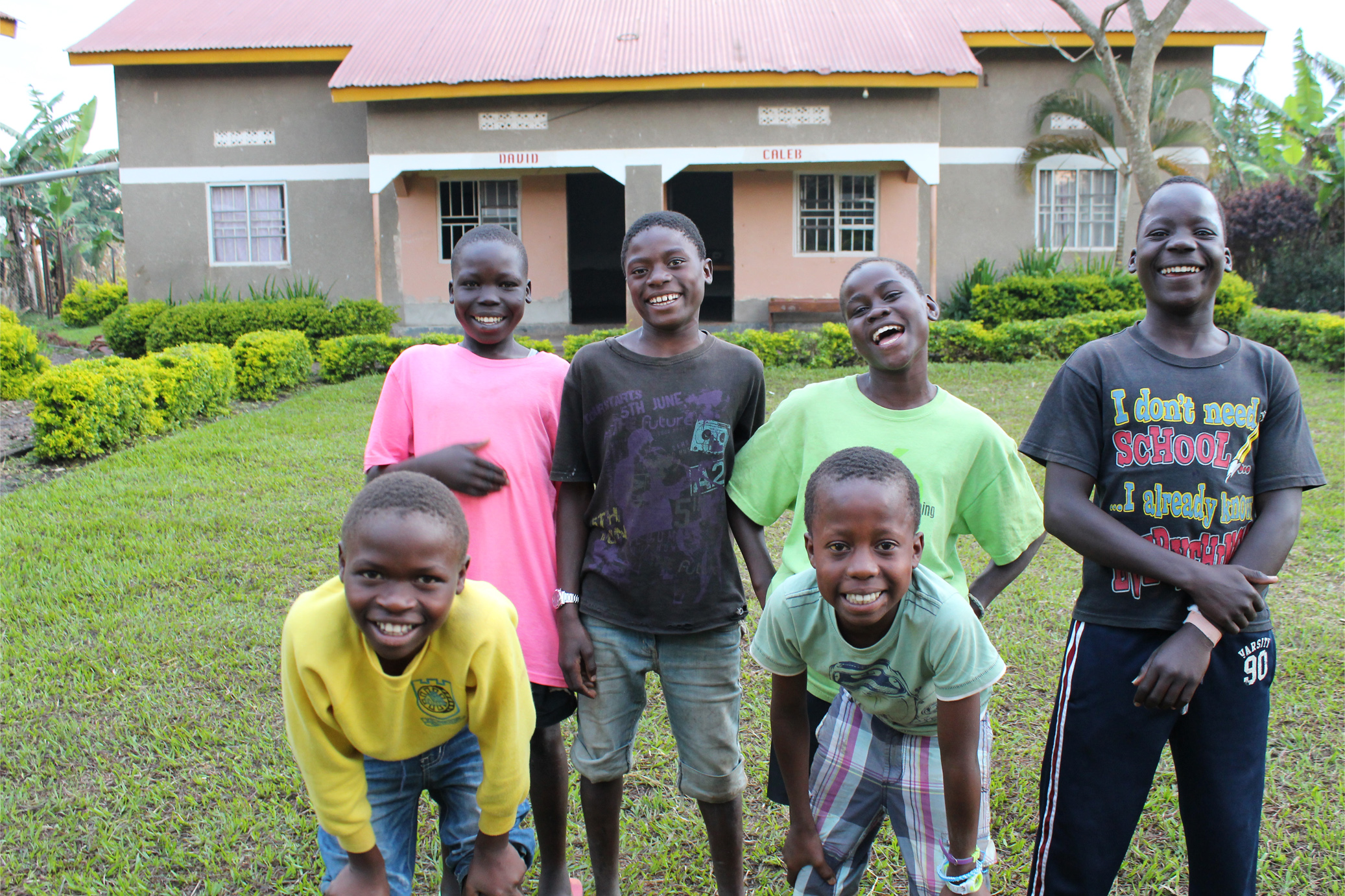 Abaana - New Life for 6 Street Kids